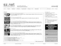 Homepage sznet